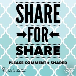 Comment below with the # shared, I'll share back!